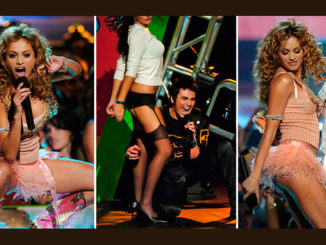 Paulina Rubio, Beto Cuevas of La Ley, Paulina & Pitbull