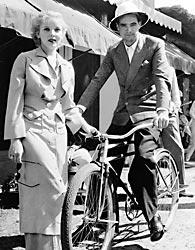 Ida Lupino and Howard Hughes in Miami Beach