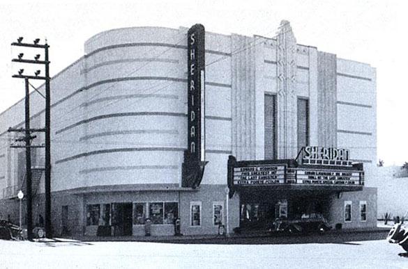 Sheridan Theatre in Miami Beach
