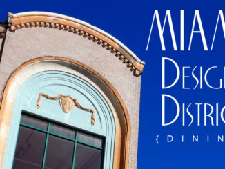 Dining in the Miami Design District