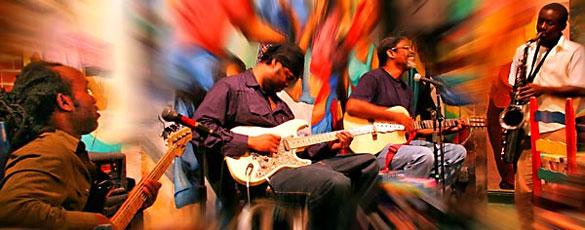 Music at Tap-Tap Haitian