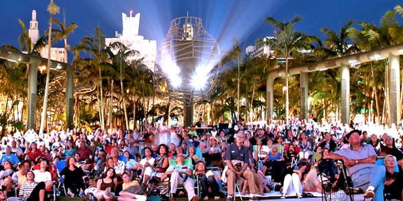 WALLCASTS at Miami Beach's SoundScape Park