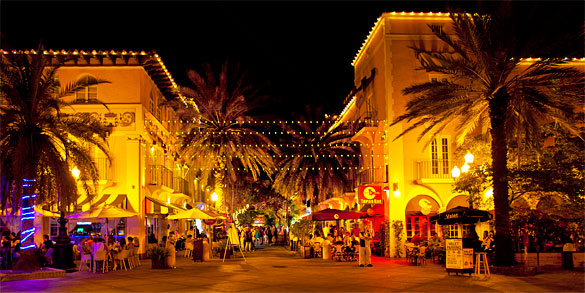 Havana 57 has locations on both Lincoln Road and here on Espanola Way
