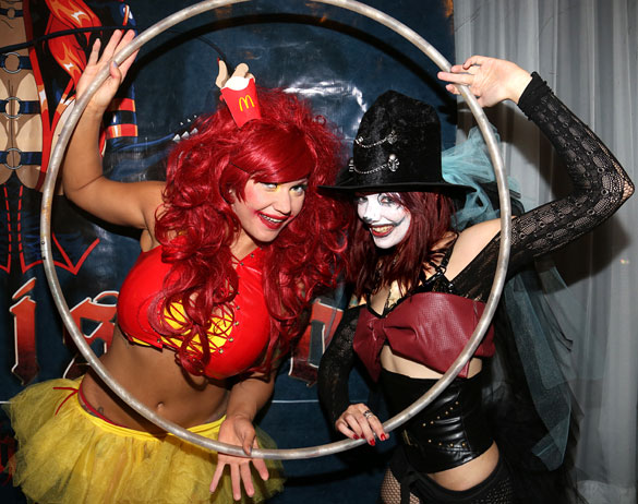 Tikidoll Sakura and XXX at Submission South Beach's Twisted Circus