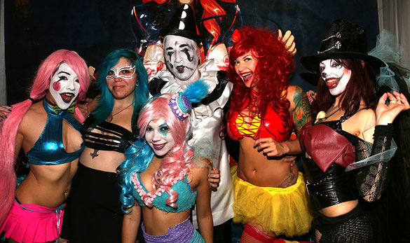 image result for twisted circus halloween party