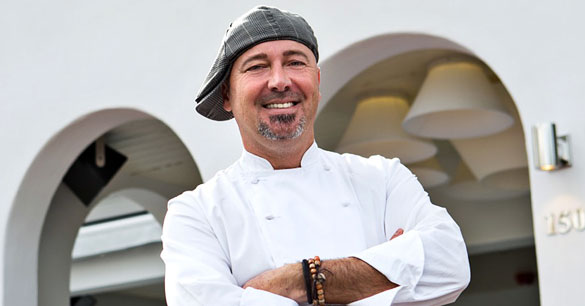 Chef Stefano Mazzi of Cavalli Miami
