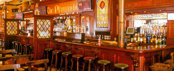 Playwright Irish Pub on Washington Avenue