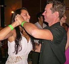 Penelope and Scott dancing at Yuca