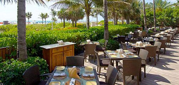 Setai Hotel Pool Beach Bar