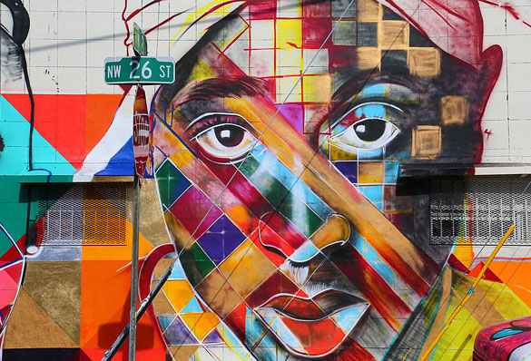 Mural at 26th Street and NW 2nd Avenue