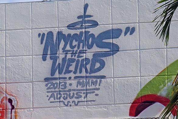 """Nychos the Weird"""