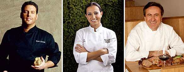 Scott Conant, Paula DaSilva & Daniel Boulud are among Miami's celebrity chefs