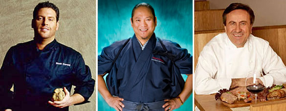Scott Conant, Masaharu Morimoto & Daniel Boulud are among Miami's celebrity chefs