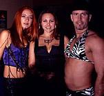 Christina, Liz and Eric at Crobar