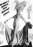 Latin Quarter Showgirl