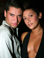 Ernesto Arambatzis and Alicia Rodriquez at The Loft@Rumi
