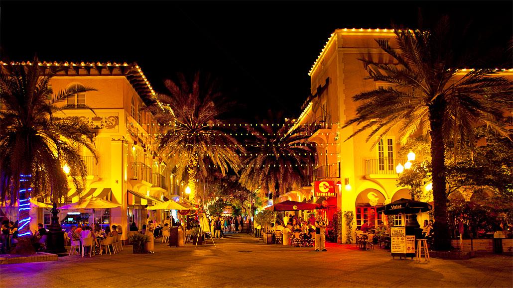 Espanola Way in South Beach