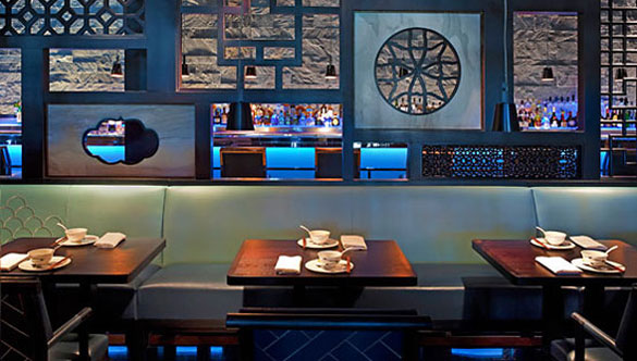 Hakkasan at the Fontainebleau Resort offers an elegant Asian escape