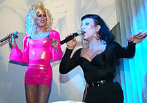 Sherry Vine and Joey Arias at Back Door Bamby