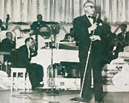 Lou Walters with Art Waner and the Latin Quarter Orchestra