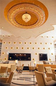 Hotel Lobby set from Mitch Glazer's Magic City