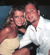 Lindsey Stewart with Noah Lazes