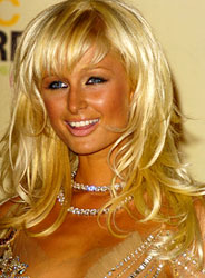 Paris Hilton at MTV's 2004 Video Music Awards
