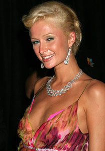 Paris Hilton at MTV's 2005 Video Music Awards