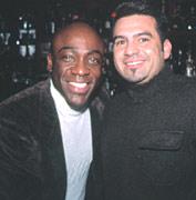 Shawn Palacious & Joe Plana at 6 Degrees Restaurant