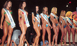 Miss Hawaiian Tropic contest at Level