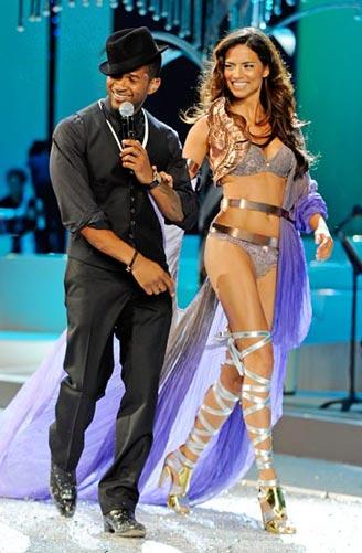 Usher and Seltia Ebanks
