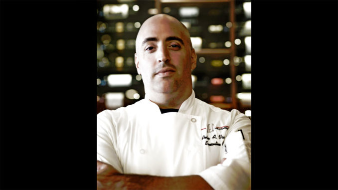 Executive Chef Peter Vauthy
