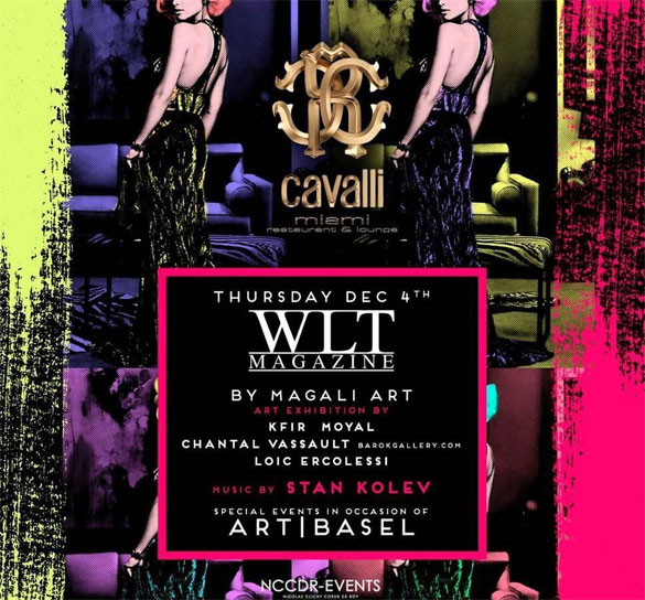 Cavalli during Art Basel