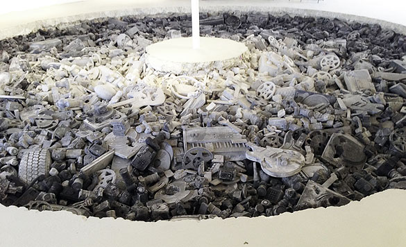 """Welcome to the Future,"" by artist Daniel Arsham"