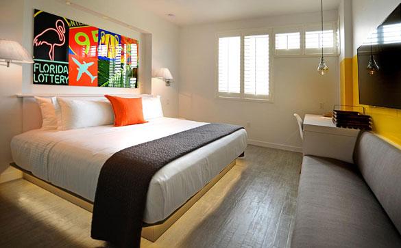 Vintro Hotel bedroom