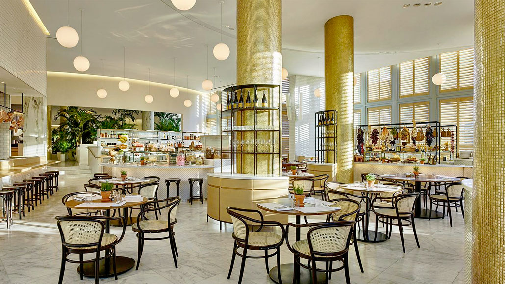 Market restaurant at the Miami Beach EDITION Hotel