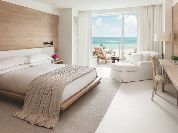Room at the Miami Beach EDITION Hotel