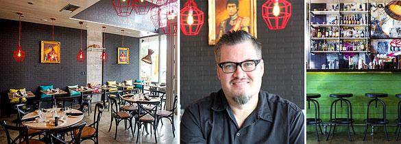 Blackbrick restaurant and Chef Richard Hales (images: Jenny Hales)