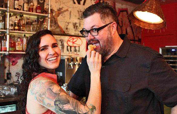 Chefs Jenny & Richard Hales