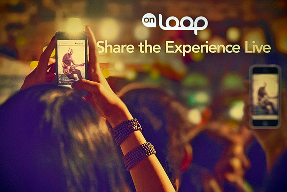 onLoop lets you experience live events with your friends