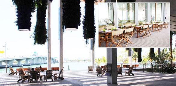 Verde restaurant at the Perez Art Museum