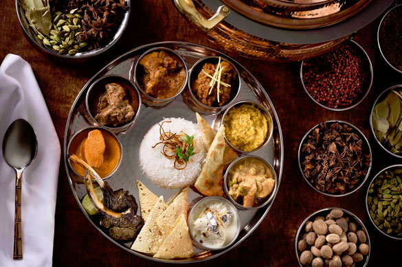 Ideal for sharing, Jaya's Thali Platter