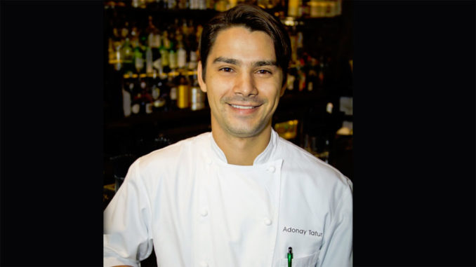 Executive Chef Adonay Tafur