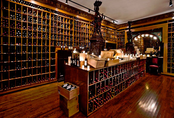 The Forge's legendary wine cellar holds a priceless collection