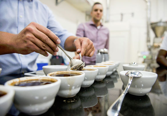 Per'La Specialty Roasters combine beans from Indonesia, Central and South America exclusively for the Setai Miami Beach