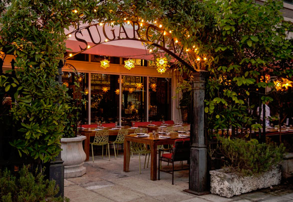 SUGARCANE raw bar grill in Midtown Miami