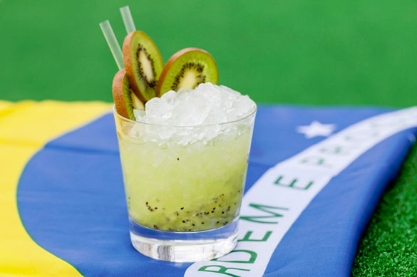 Celebrating the Olympic Spirit with Kiwi Caipirinhas at SUSHISAMBA Miami Beach