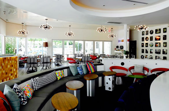 Vagabond Kitchen And Bar Features A Chic Lounge Space And An Airy Dining  Room Overlooking The