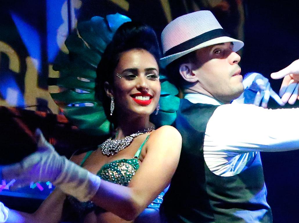 Lidia Llanes and René Rodriguez