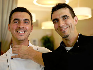 Chefs Roberto and Emanuele Bearzi